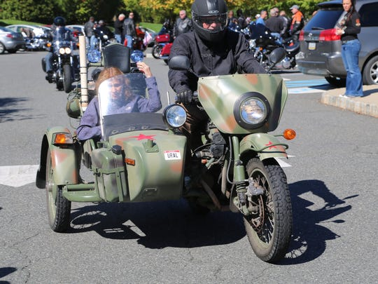 All makes and styles of motorcycles are invited to the charity run on Saturday Oct. 1.