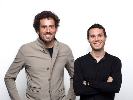 Co-founders Gunnar Lovelace, left, and Nick Green were