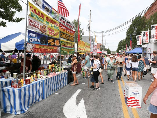 Shippensburg Corn Festival was on Saturday, Aug. 27,
