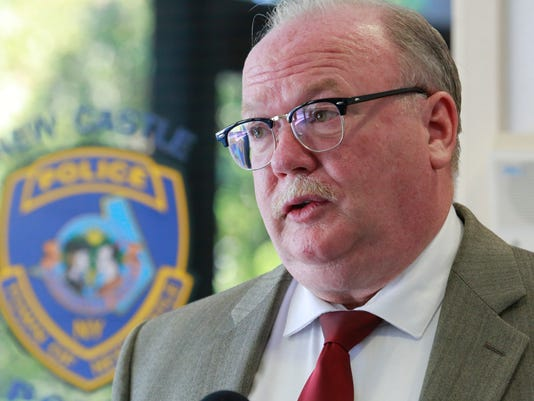 New Castle Police Chief Charles Ferry