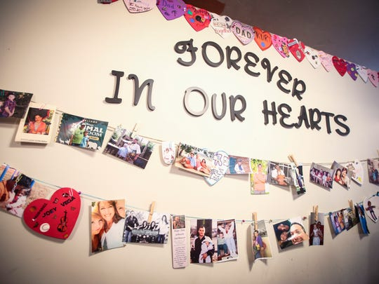 The memory wall. Valerie's House, a new non-profit
