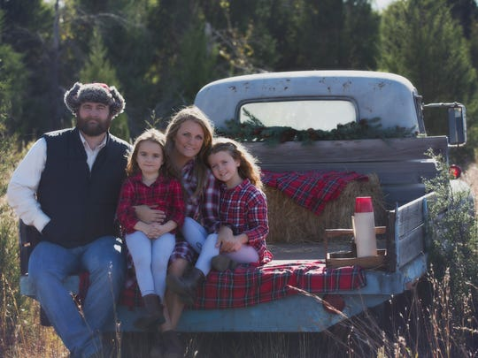Stacy Welsh-Christ, with husband Ryan Christ, and their daughters, Grace, 9, and Clara, 5.