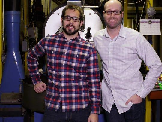 Jason Richter, left, and Johnny Steverson, co-founders