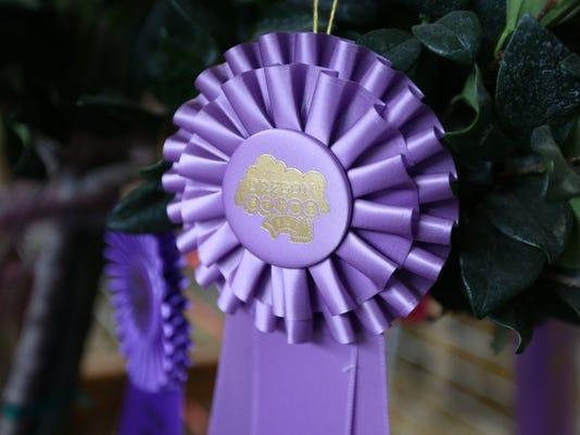 Oregon State Fair Blue Ribbon