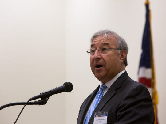 Tony Hernandez, USDA administrator for the Rural Housing Service, speaks to the crowd during the SWFL Promise Zone Kickoff meeting at Immokalee Technical College on Thursday, Sept. 22, 2016. The 10-year program, which aims to help high-poverty areas across the country, will provide each designated zone with preferred access to certain federal grants, the support of a federal employee who will work full-time to help communities implement goals and get access to federal programs, help from another employee who will advocate for the communities before federal agencies, and the help of up to five full-time AmeriCorps Vista members.