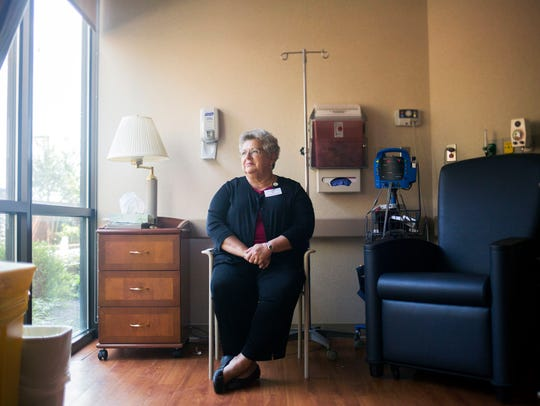 Pat Eberhardt, a cancer navigator with the AnMed Health