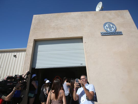 Canndescent, a newly opened production plant in Desert