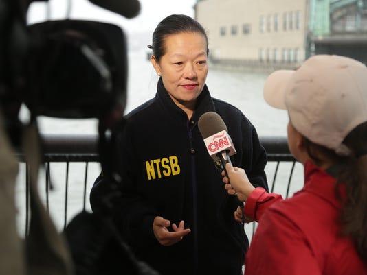 Bella Dinh-Zarr, NTSB