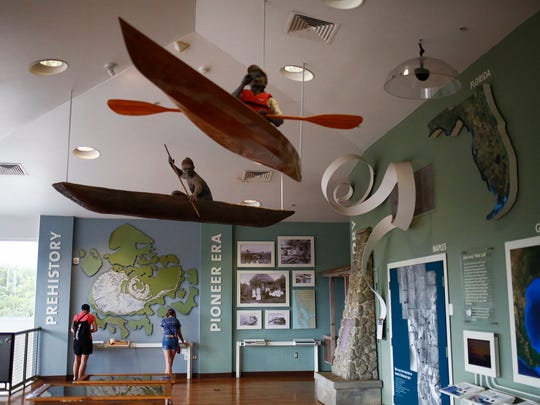 Rookery Bay Environmental Learning Center in Naples.