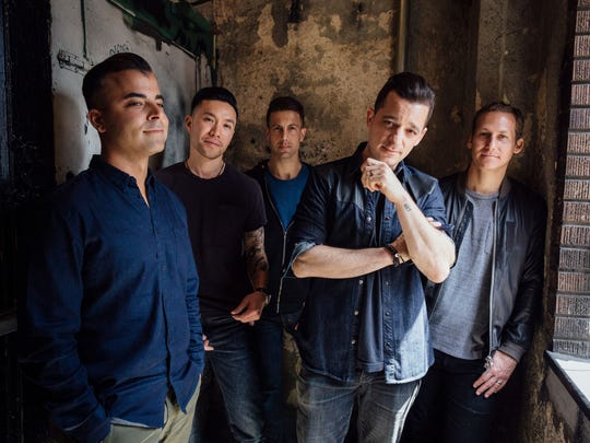 """O.A.R.'s hits include """"Hey Girl,"""" """"Love and Memories,"""" """"Peace"""" and """"Shattered (Turn the Car Around)."""""""