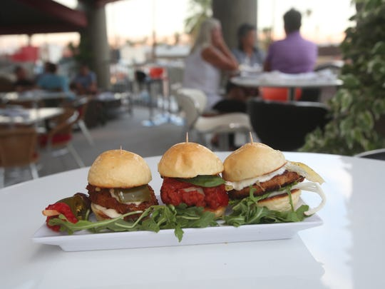 JustTapas has opened on Palm Canyon, the restaurant offers tapas including sliders, organic sprout salad and a robust win selection.