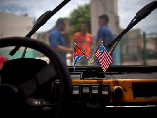 Cuba/ U.S AP