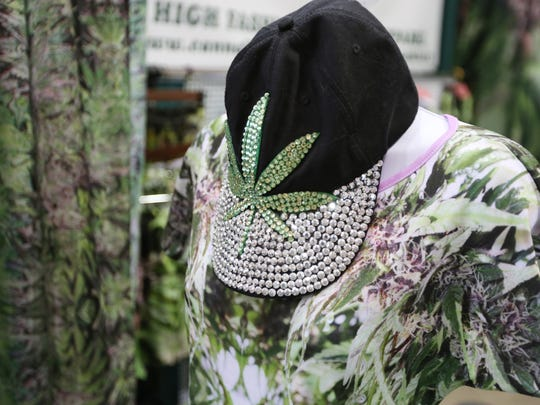 Purchase marijuana-themed apparel at the Hemp & Cannabis Fair Nov 5-6 at the Oregon State Fairgrounds.