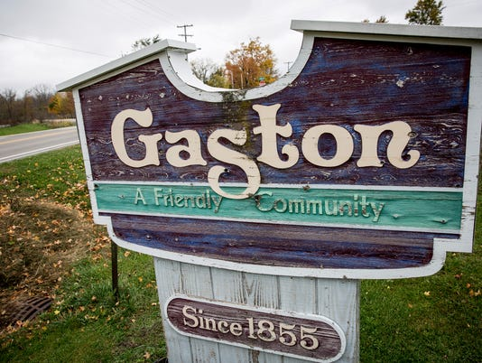 Gaston sign