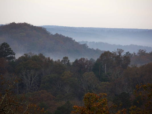Fall in Shannon and Oregon Counties