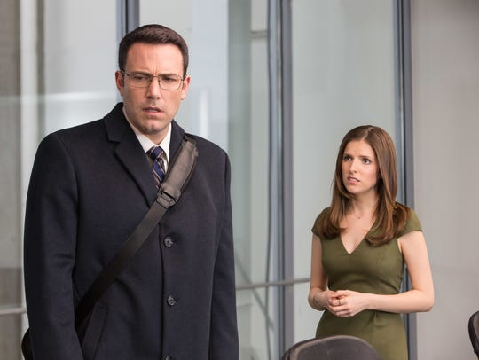 "Ben Affleck and Anna Kendrick uncook the books in ""The"