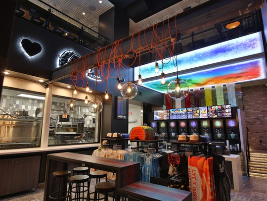 Las Vegas became the fourth Taco Bell Cantina restaurant to open and the first of its kind to offer 24-hour service.