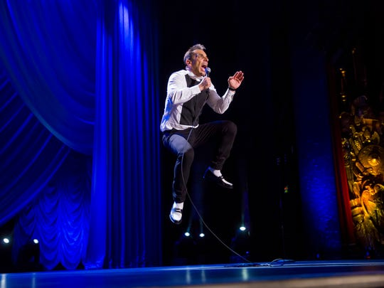 Sebastian Maniscalco performs earlier this year.