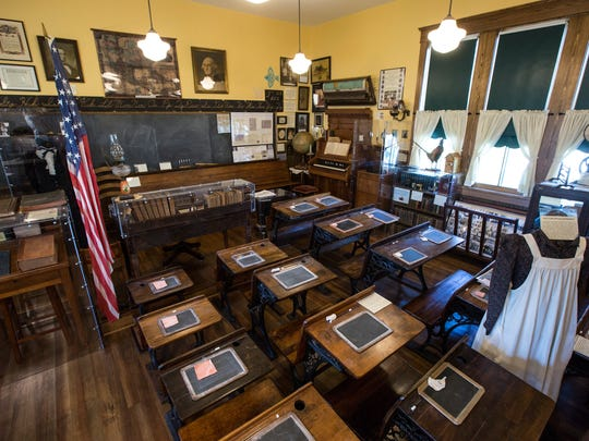 The Iowa rural schools museum is located in a one-room