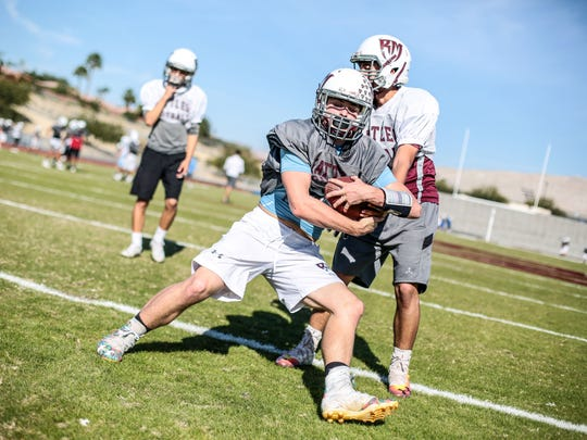Rancho Mirage High School senior running back Kyle