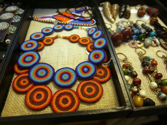 Rose Luangisa designs a variety of African inspired