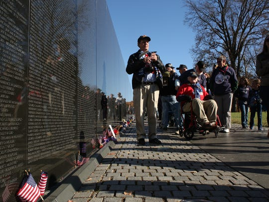 Twin Tiers Honor Flight Mission 5 visits the Vietnam