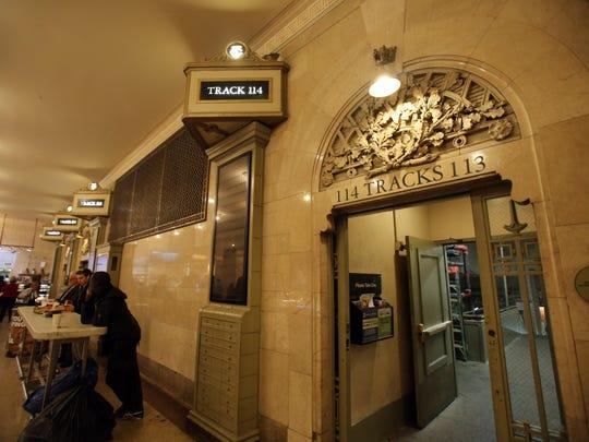 \Grand Central Terminal in Manhattan.