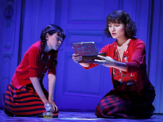 "Savvy Crawford (left) and Phillipa Soo perform in ""Amélie,"