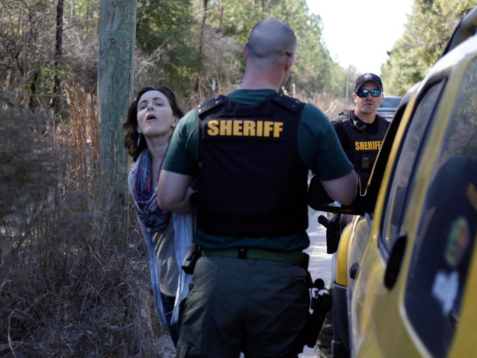 Sabal trail sidebar: Deputy Davis arrests KC Cavanaugh