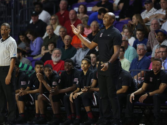 Memphis East takes on Montverde Academy in the finals of the 44th Annual City of Palms Classic on Wednesday, December 21, 2016, at Suncoast Credit Union Arena in Fort Myers.