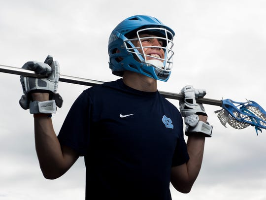 Michael Nathan, a senior at University of North Carolina, was a standout boys lacrosse player at Barron Collier High School. Despite his talent few schools offered him scholarships to play lacrosse. However, after playing a year at Colby College in Maine, Nathan decided to try out as a walk on for the 2016 national champion North Carolina Tar Heels. Nathan made the 2017 roster, becoming the first boys player from Southwest Florida to play for a Division I powerhouse. He will graduate from UNC in May.