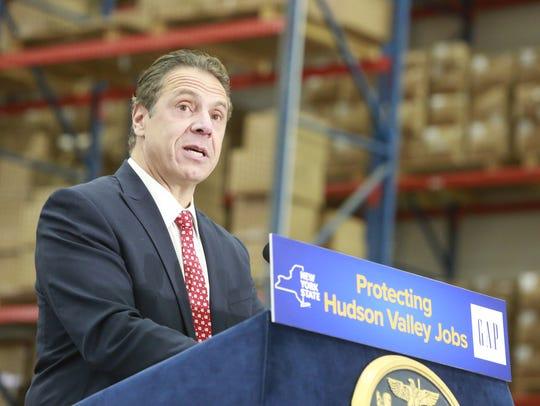 New York State Governor Andrew Cuomo.
