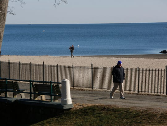 Oakland Beach at Rye Town Park.