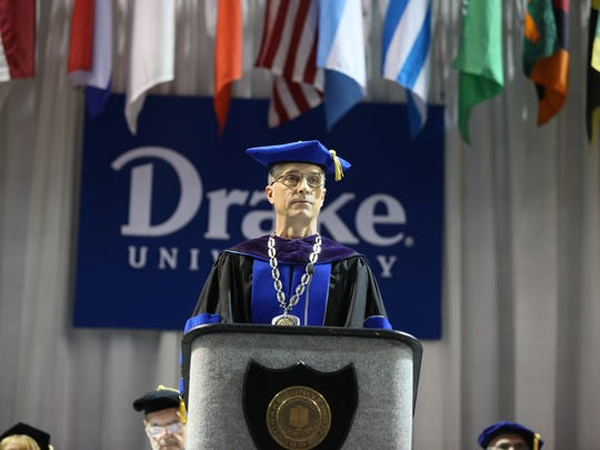 A building personnel crisis in the athletic department is probably the most public struggle of Drake President Marty Martin's short tenure.