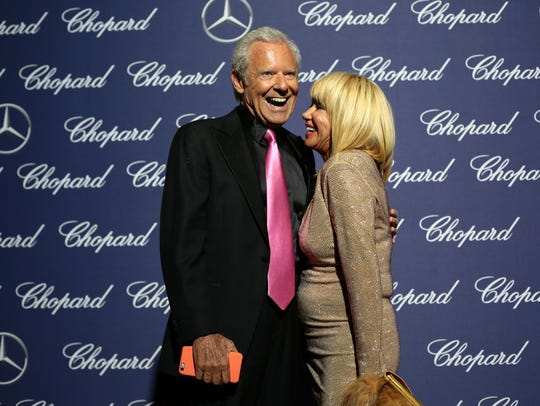Alan Hamel and Suzanne Somers regularly attend the Palm Springs International Film Festival Awards Gala.