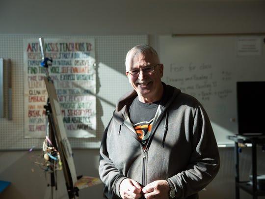 Former Alma d'Arte charter high school principal Mark Hartshorne, seen in 2017.