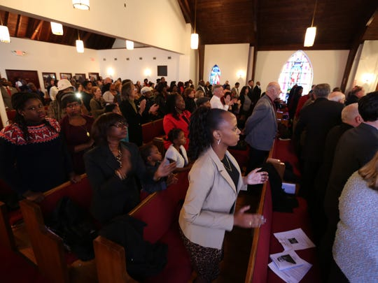 The Rev. Dr. Martin Luther King Jr. interfaith service