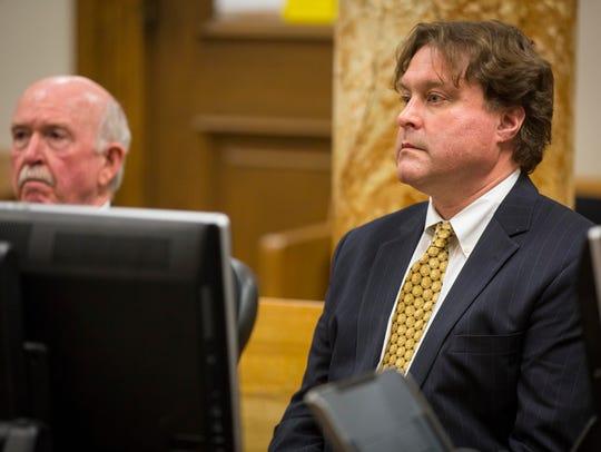 Robert Rhodes pleaded guilty Monday Jan. 9, 2017, to