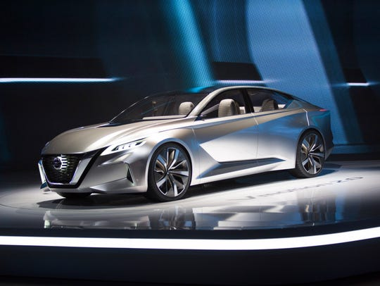 Vmotion 2.0, a concept vehicle showcasing Nissan's