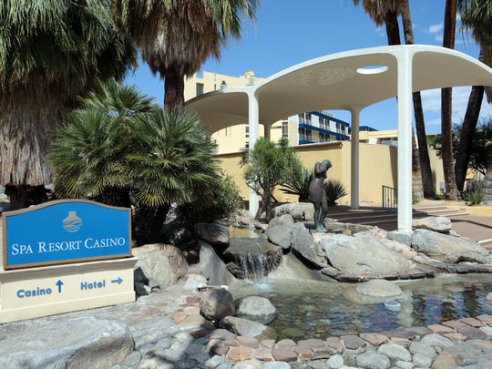 The Spa Resort Casino in downtown Palm Springs on Tuesday, May 6, 2014. The 229-room hotel was demolished in the summer of 2015.