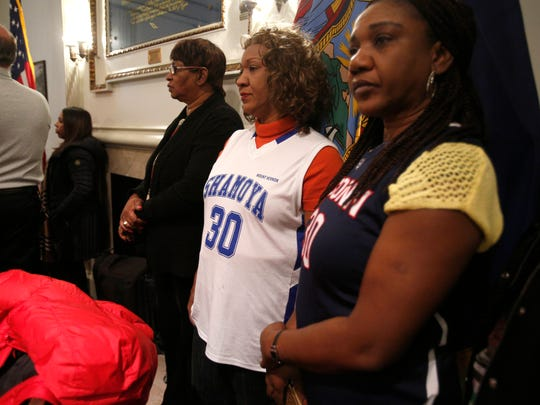 The aunts of Shamoya McKenzie, who was killed in a