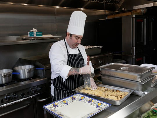 Chef Dave Nevins, co-owner of Siegel Bros. Marketplace