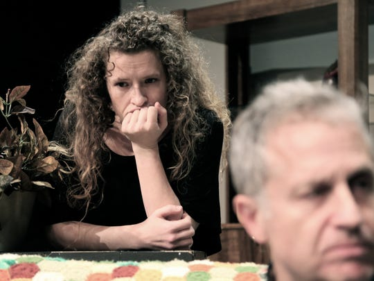 """Christa Karschnia and Tim Jaeger are two of the actors starring in Will Eno's family drama """"The Open House"""" at The Verona Studio."""