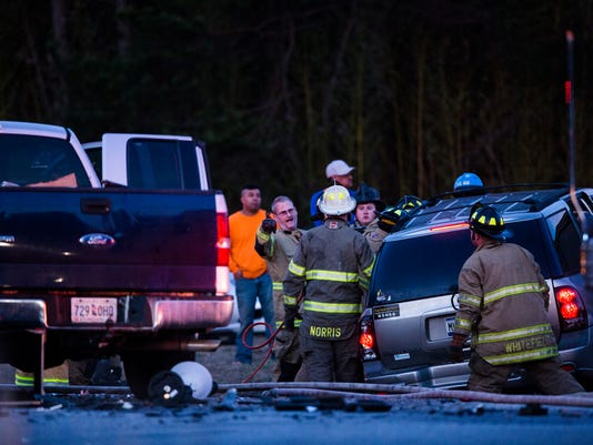 Highway 29 wreck