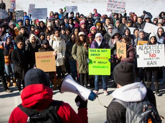 ISU protest