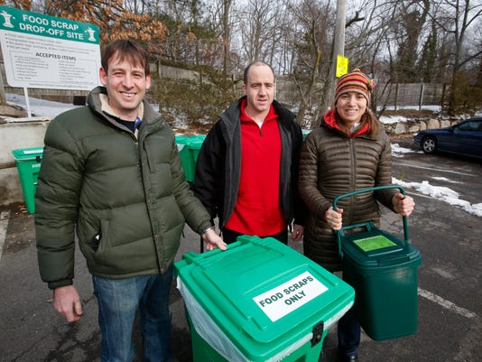 Scarsdale food scraps composting