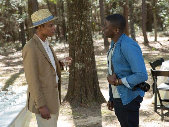 Logan (Lakeith Stanfield, left) meets Chris (Daniel