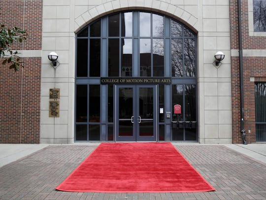 FSU's College of Motion Picture Arts is still decked out Monday after the schools Oscar party Sunday night.