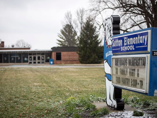 Sutton Elementary School closed after the 2016-17 school