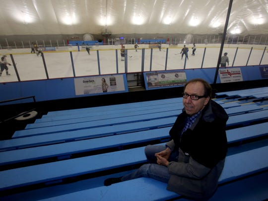 Ed Witz, the owner of the Ice Hutch in Mount Vernon, photographed March 16, 2017. Witz, who is also the Pelham High School varsity hockey coach, has been sole owner of the rink since 2010.
